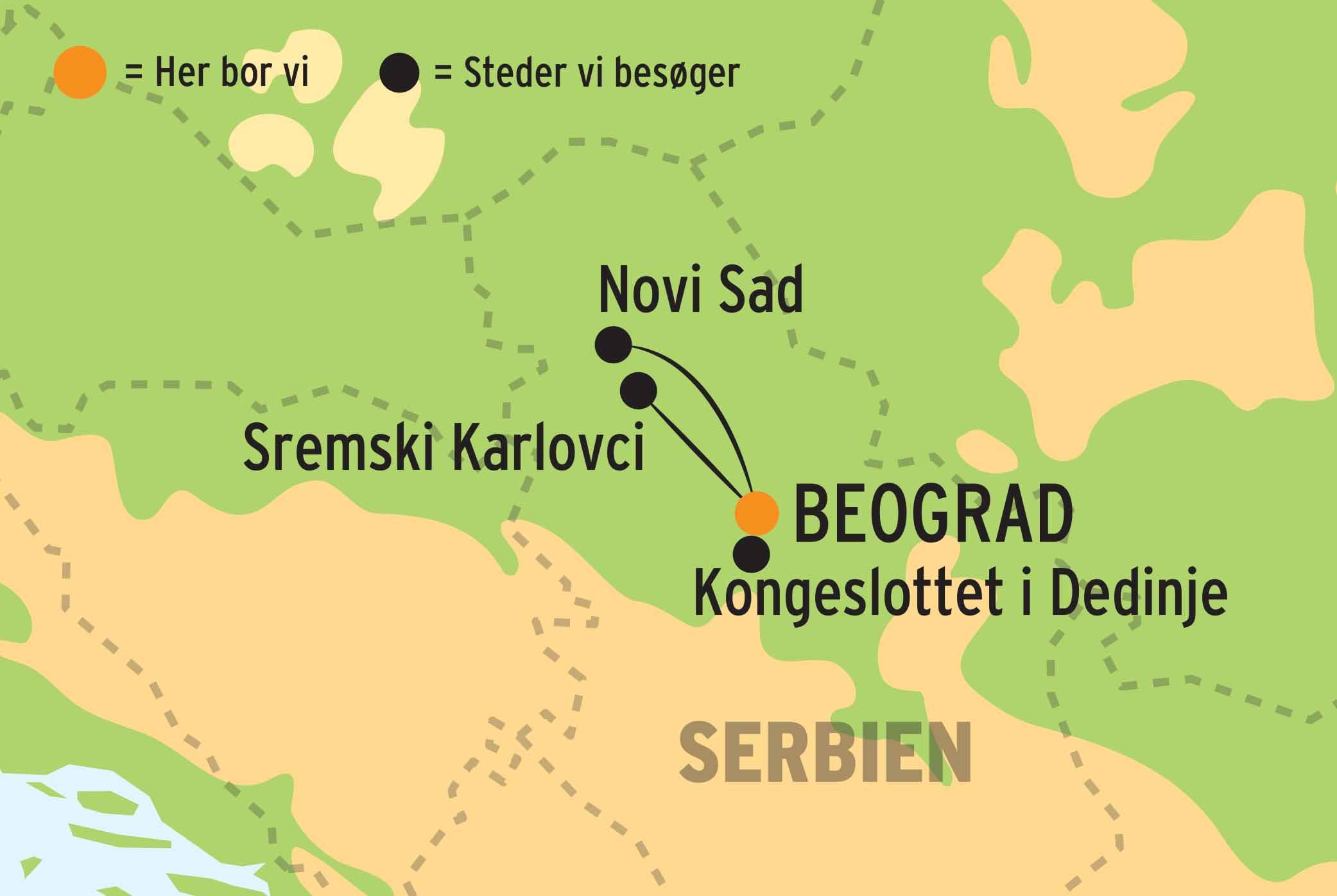 Kulturrejse Til Beograd L Kulturrejser Europa
