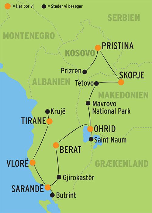 Rundrejse I Sydbalkan L Kulturrejser Europa