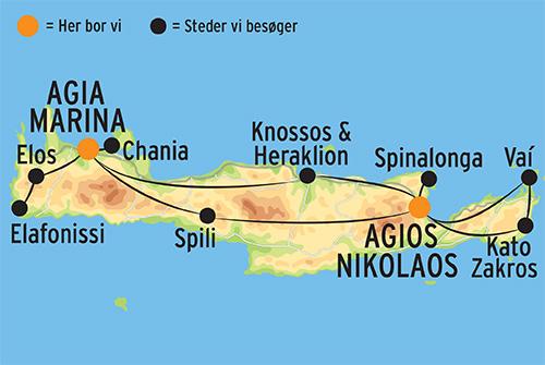 Rejser Til Kreta M Fly Og Hotel I Chania L Kulturrejser Europa
