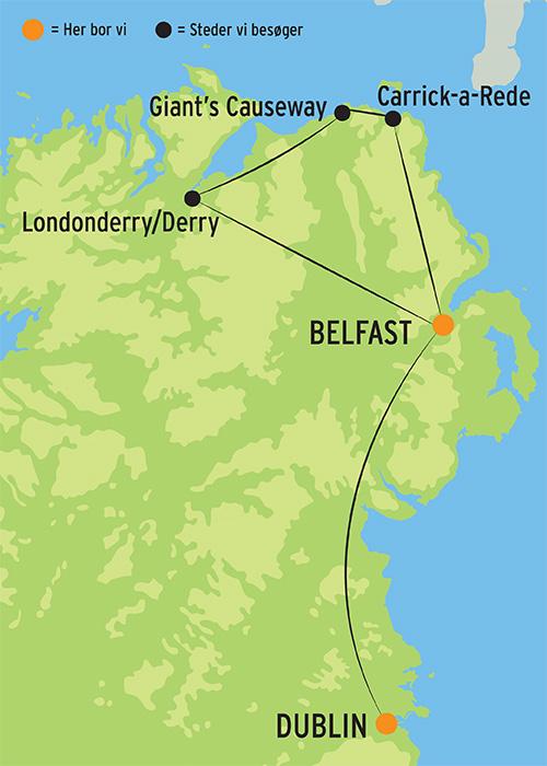 Storbyferie I Dublin Og Belfast L Kulturrejser Europa