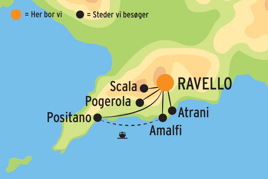 Vandreferie Pa Amalfikysten I Italiens Smukke Natur Laes Mere Her
