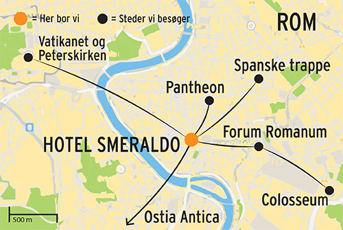 Rejse Til Rom Med Dansk Rejseleder Storbysferie Med Kultur Rejser