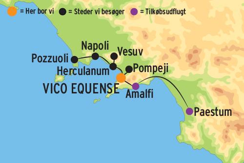 Napoli Kort Kort Napoli Campania Italien