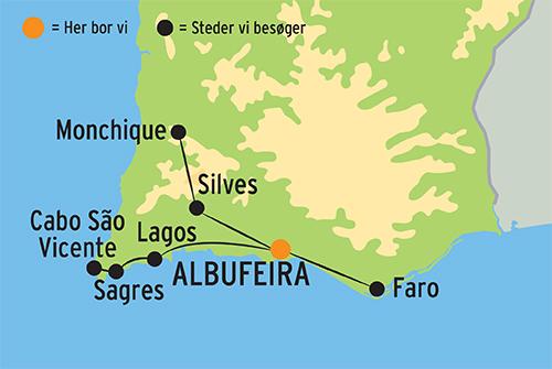 Langtidsferie I Portugal I Algarve M Ophold I Albufeira Book Her