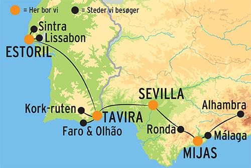 Langtidsferie Pa Den Iberiske Halvo Oplev Spanien Og Portugal