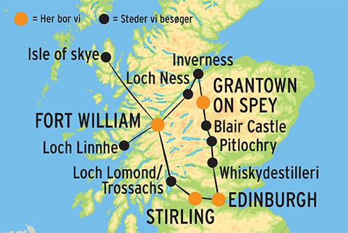Rundrejse I Skotland M Fly Til Fra Edinburgh Laes Rejsebeskrivelse