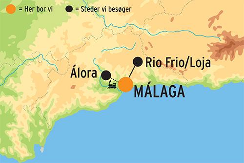 Rejser Til Malaga Til Picassos Skonne Fodeby M Dk Talende Guide