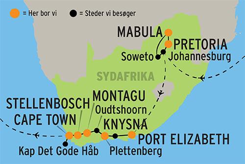 Rundrejse I Sydafrika Oplev Bla Cape Town Og Afrikansk Safari