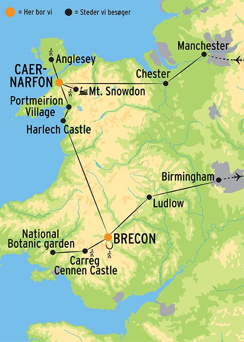 Vandreferie I Wales L Kulturrejser Europa