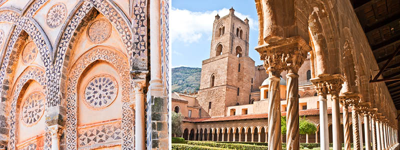 Katedralen i Monreale, Palermo, Sicilien, Italien