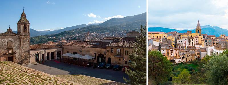 Castelbuono i Palermo på Sicilien, Italien