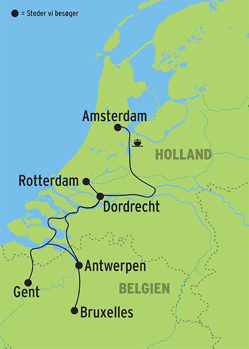 Flodkrydstogt I Europa M Helpension Ombord Se Vores Rejser Her