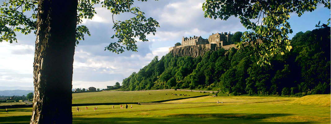 Stirling Castle i Skotland