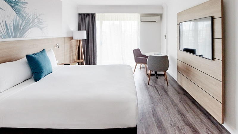 Dobbeltv�relse p� Novotel Cairns Oasis Resort
