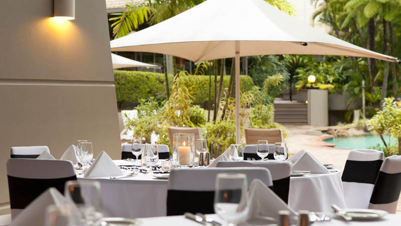 Restaurant p� Novotel Cairns Oasis Resort