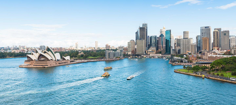 Krydstogt Australien, Sidney havn