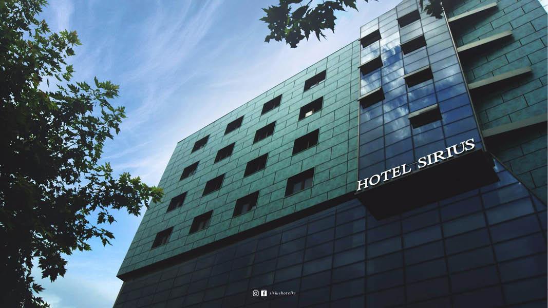 Hotel Sirius i Pristina