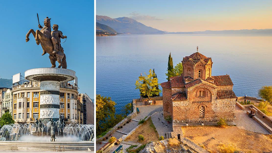 Ohrid, Makedonien, Sydbalkan