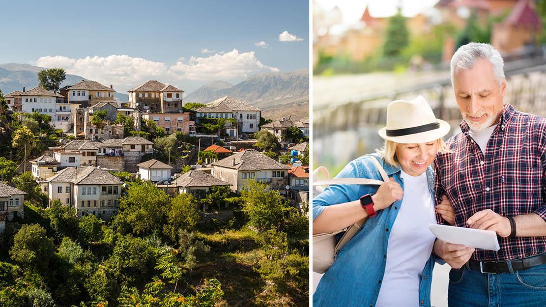Par på rejse i Sydbalkan