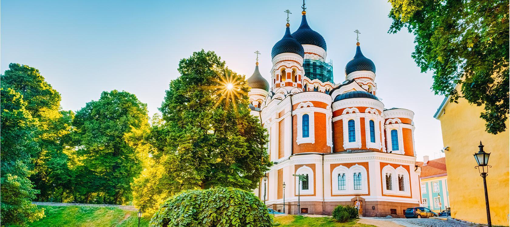 Alexander Nevsky Katedral i Tallin, Estland