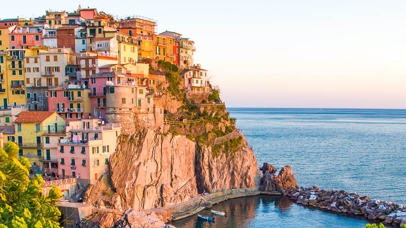 Cinque Terre - fem små byer