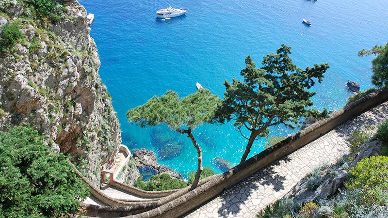 H.C. Andersen på Amalfikysten, Capri
