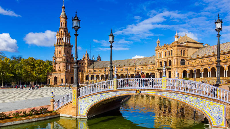 Oplev Sevilla i Spanien, Andalusien