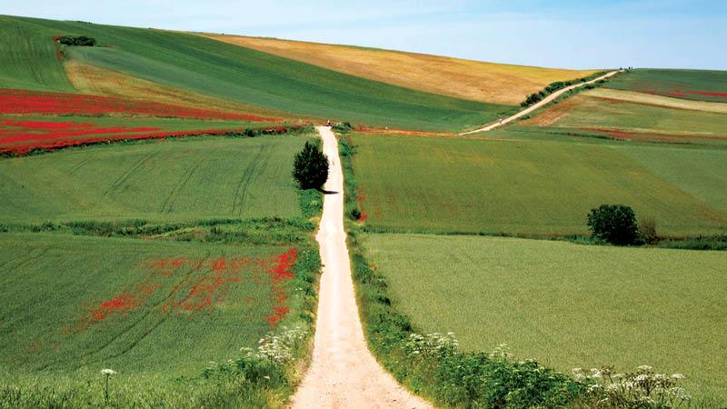 Pilgrimsruten i Nordspanien