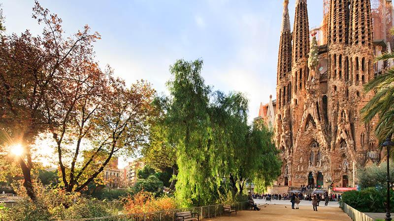 Sagrada Família i Barcelona, Spanien