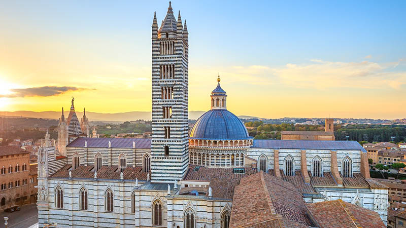 Tag med på byvandring i Siena