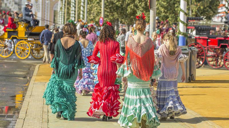 Ti fantastiske fiestas i Spanien
