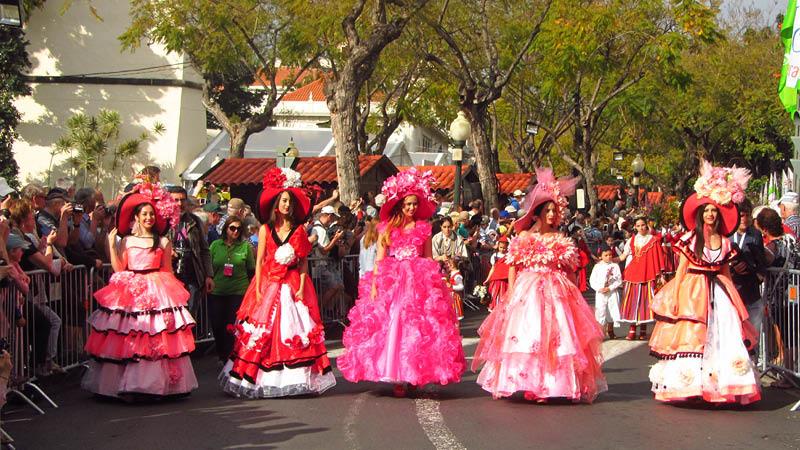 Blomsterfestival på Madeira