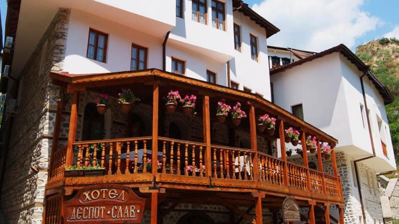 despot slav hotel melnik bulgarien