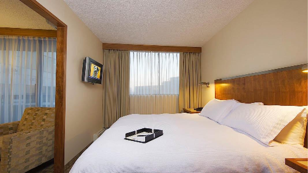 Hotelværelse Calgary Canada