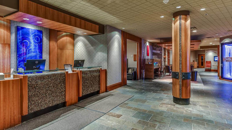 reception p� Listel Whistler Hotel Canada