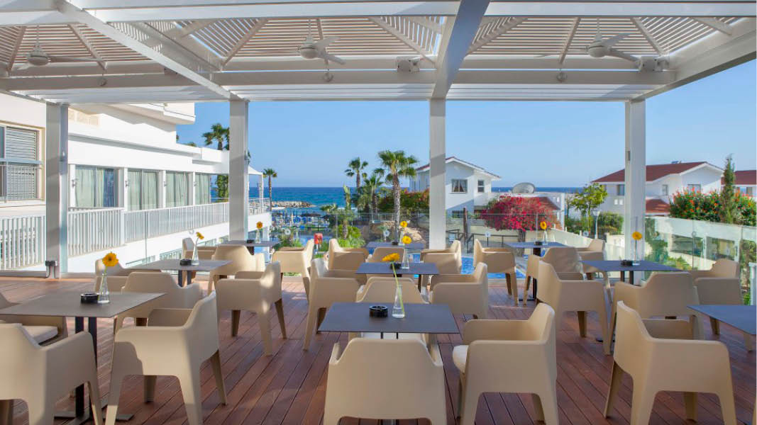Restaurant p� Lordos Beach Hotel