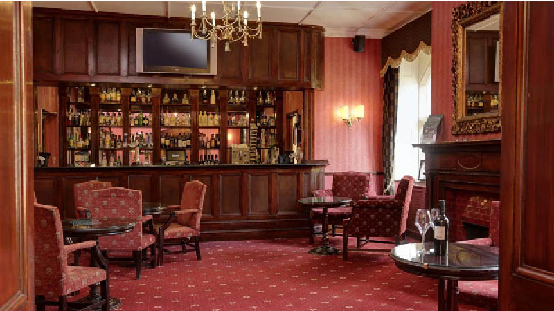 Bar og lounge p� Best Western Abbots Canterbury