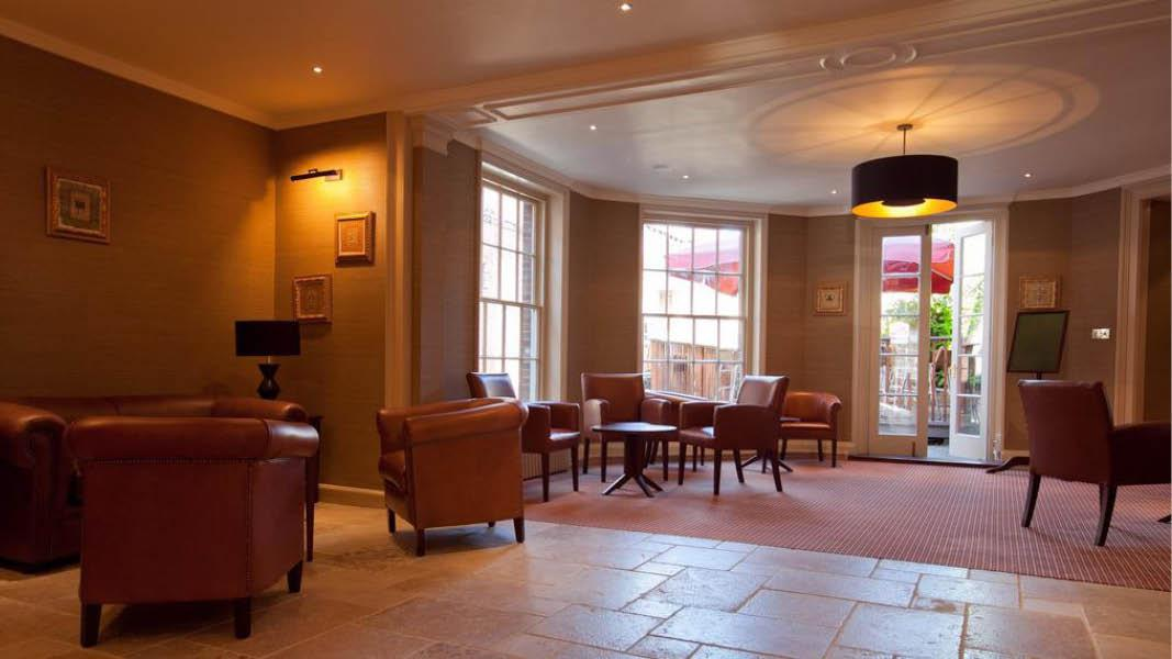 Loungeomr�de p� BW The Rose And Crown Hotel, England