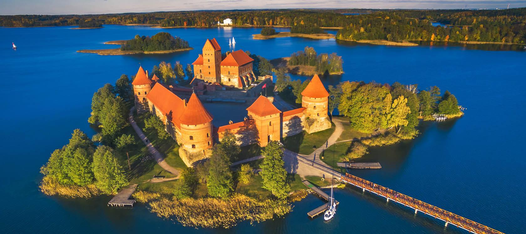 Litauen, Trakai slot