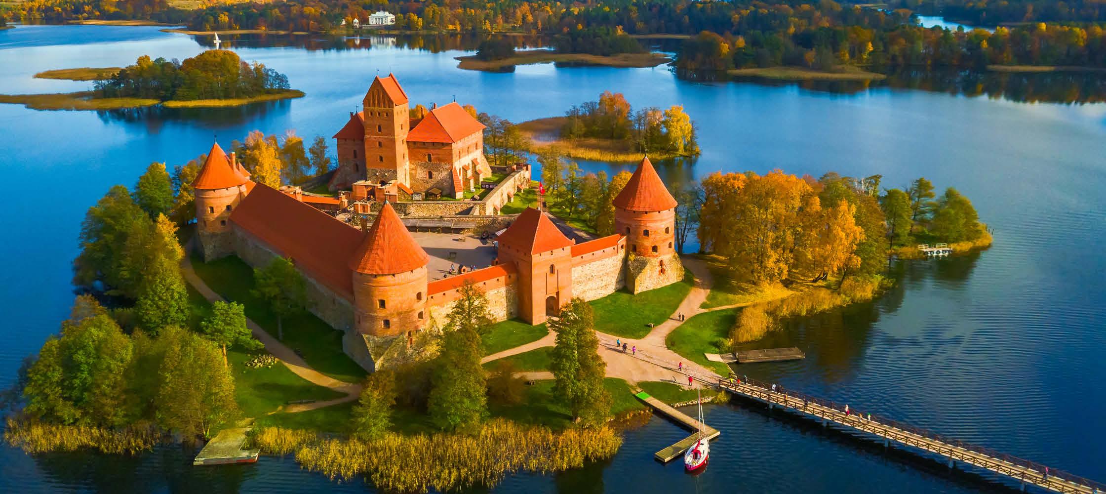 Rundrejse Estland, Letland og Litauen