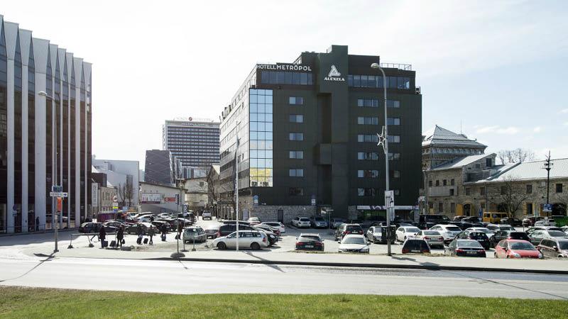 Metropol Hotel Tallinn udefra