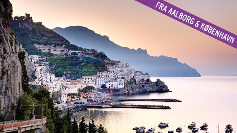 Rejs til Vidunderlige Amalfi i 2021