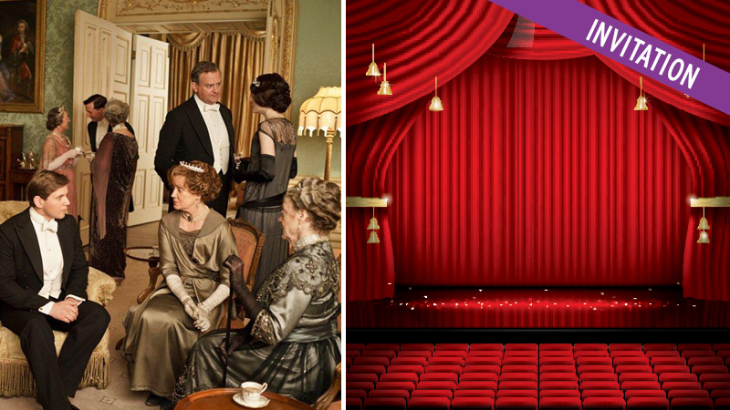 Downton Abbey The Movie 30/9 - tag med