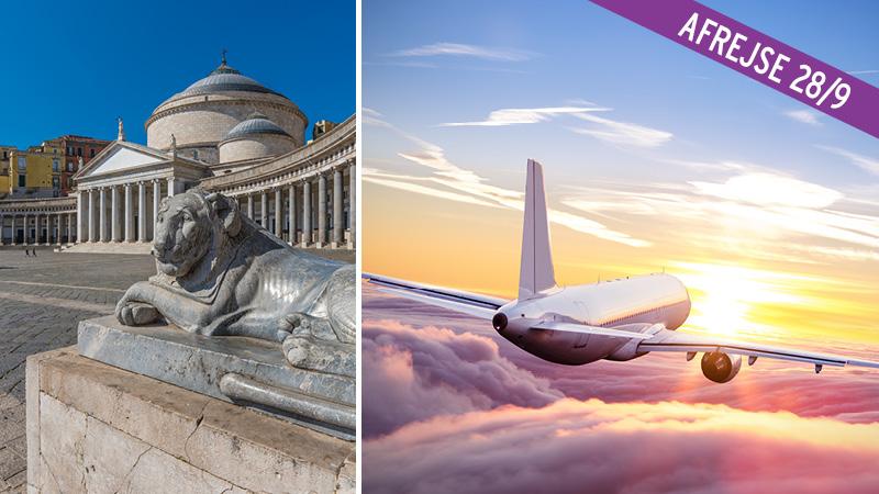 Flybilletter til Napoli - 1 uge t/r