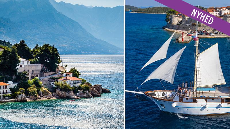 Sommerkrydstogt i Kroatien