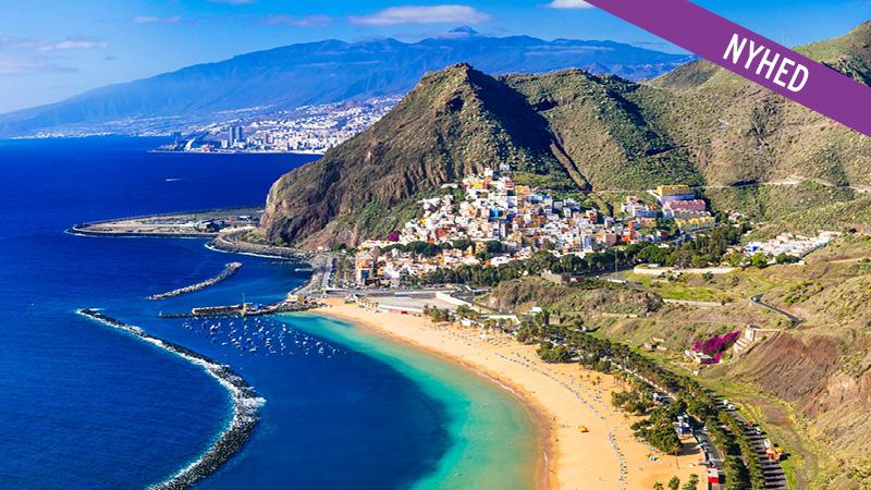 Tenerife med Frantz Howitz - afrejse 26/3