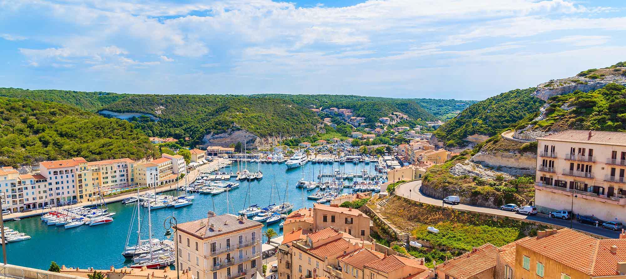 klassiske korsika - udsigt over havn