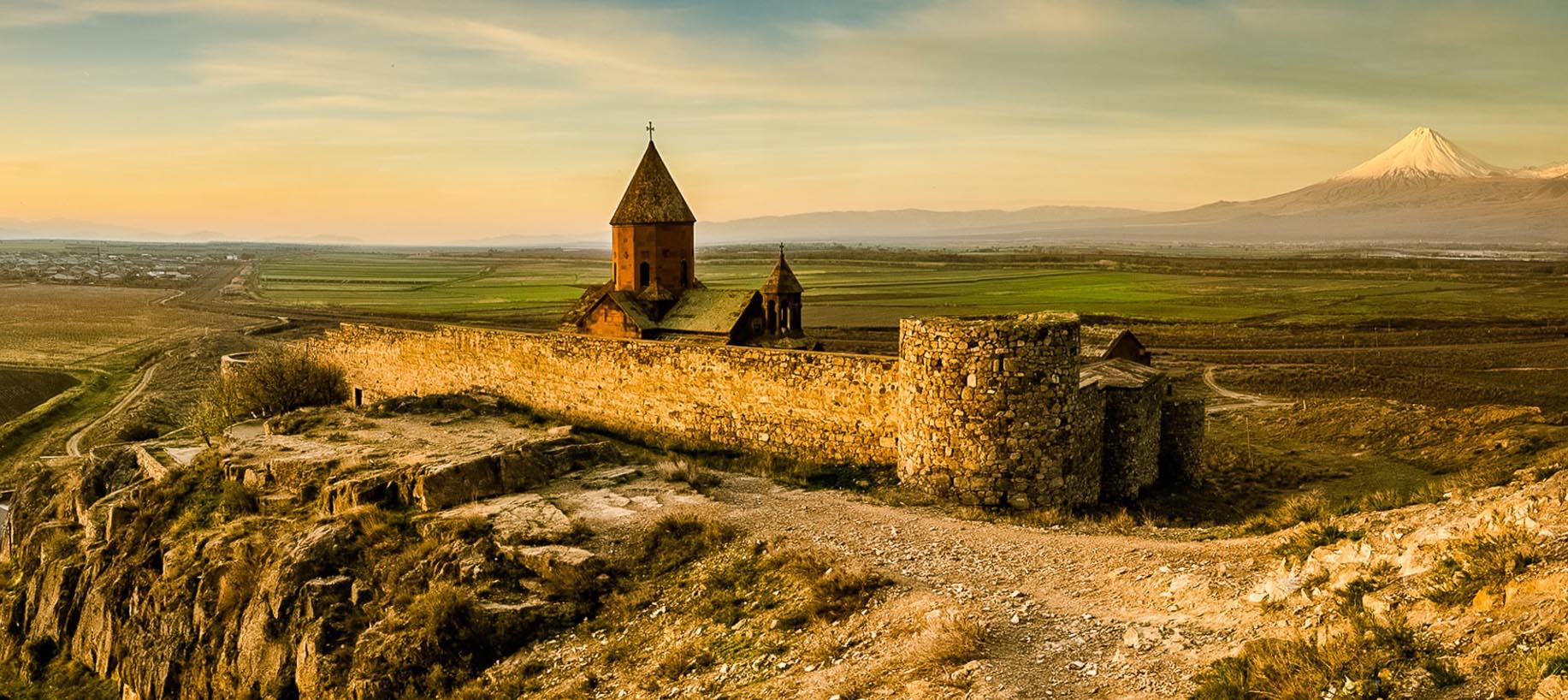 Khor Virap i Armenien
