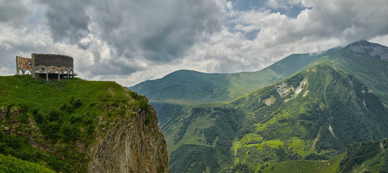 Kaukasusbjergene, Georgien