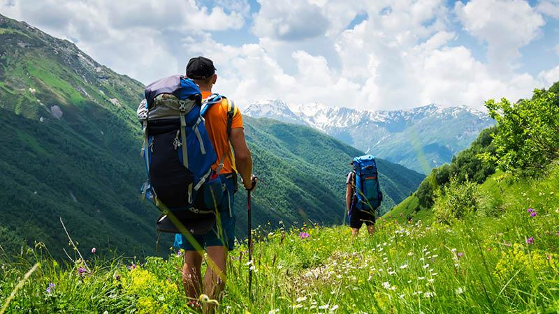 Vandreferie i Svaneti Georgien